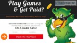 Free mobie games or get paid to play