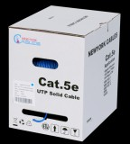 Cat5e plenum 1000ft utp bulk lan solid c