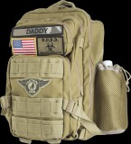 Tactical dad - diaper bag