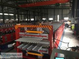Double layer metal roofing roll forming
