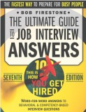 The ultimate guide to job interview answ