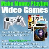 Video game tester jobs/ get paid to play