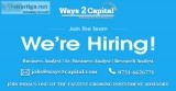 Requirement of account executive in ways