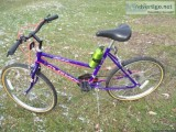 Girls bike new Rode one time
