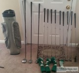 Golf clubs for sell.