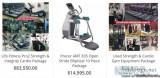 Used and refurbished commercial cardio gym equipment