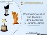 Corporate Trophies Manufacturer in Gurgaon Delhi