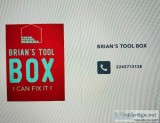 Brian&rsquos tool box