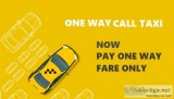 One way call taxi service