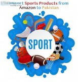 Import sports products from amazon
