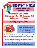 Bird Events in Texas Richardson Exotic Bird Fair