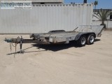 DEMCO TILT DECK EQUIPMENT TRAILER