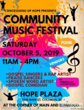 Concessions of Hope Music Festival