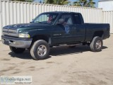 s DODGE RAM  EXTENDED CAB PICKUP TRUCK