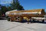Gallon Stainless Steel Tanker Trailer with Pump