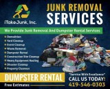 iTakeJunk Residential and Commercial Dumpster Rental