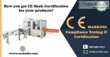 CE Marking Certification in Moradabad