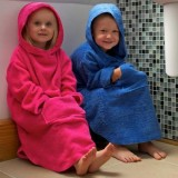 Buy Children s Cotton Hooded Poncho from TowelsRus