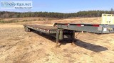 Military Low bed Trailer