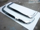 Renault Caravelle Bumper in stainless steel