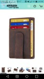 Lost leather my clip wallet Rosecrans in Point Loma