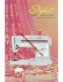 Singer  Stylist Sewing Machine Instruction Manual