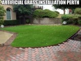 artificial grass installation in Perth by Looks Like Grass