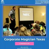 Best Corporate Magician in Texas